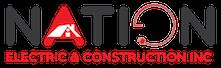 Nation Electric & Construction Inc. Logo